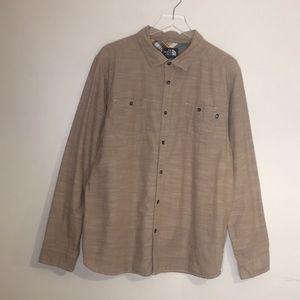 The North Face Button up Shirt. Size XL